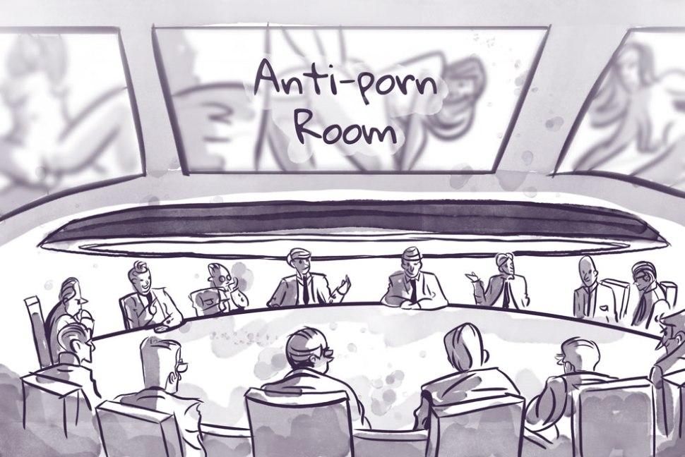 anti-porn roundtable