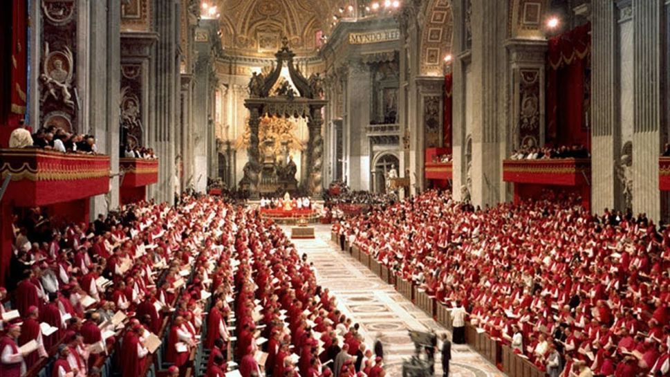 priests meeting for the second vatican council